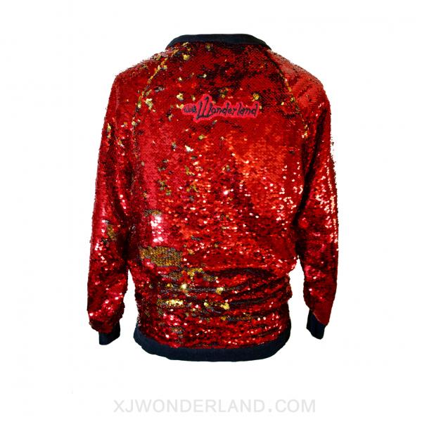 Reversible Sequin Sweater Back