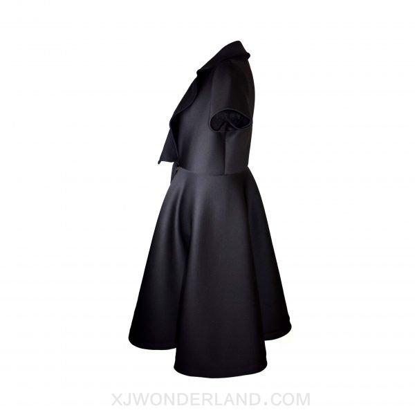 Black Trench Dress