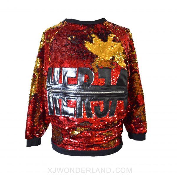 Reversible Sequin Sweater
